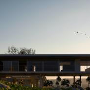 Modern Minimalist Eco House