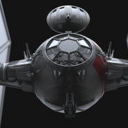 The Force Awakens Tie fighter